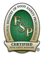 NRSFP certified food safety manager