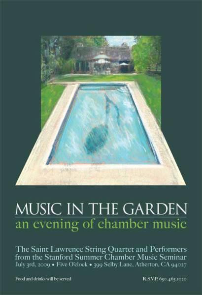 Poster: St. Lawrence String Quartet Outdoor Concert