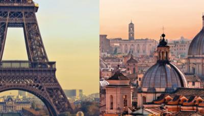 Rome Notes: Bienvenue à Paris!