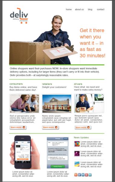 Deliv - Online Delivery Service