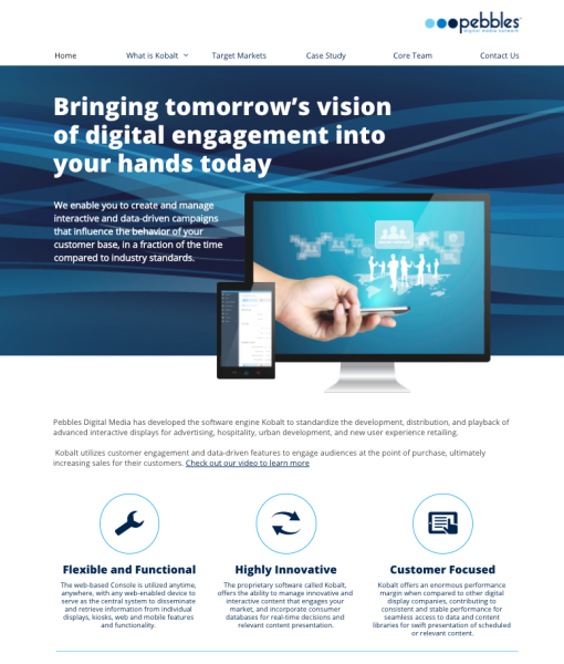 Kobalt Website