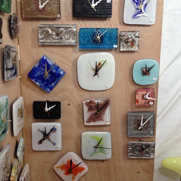 cast glass Wall Clocks