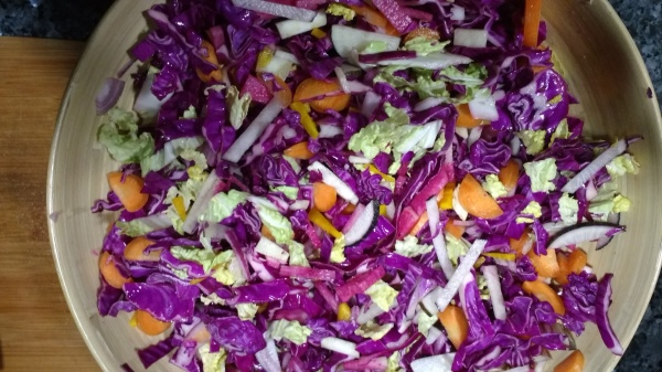 Recipe: Winter Cabbage Salad