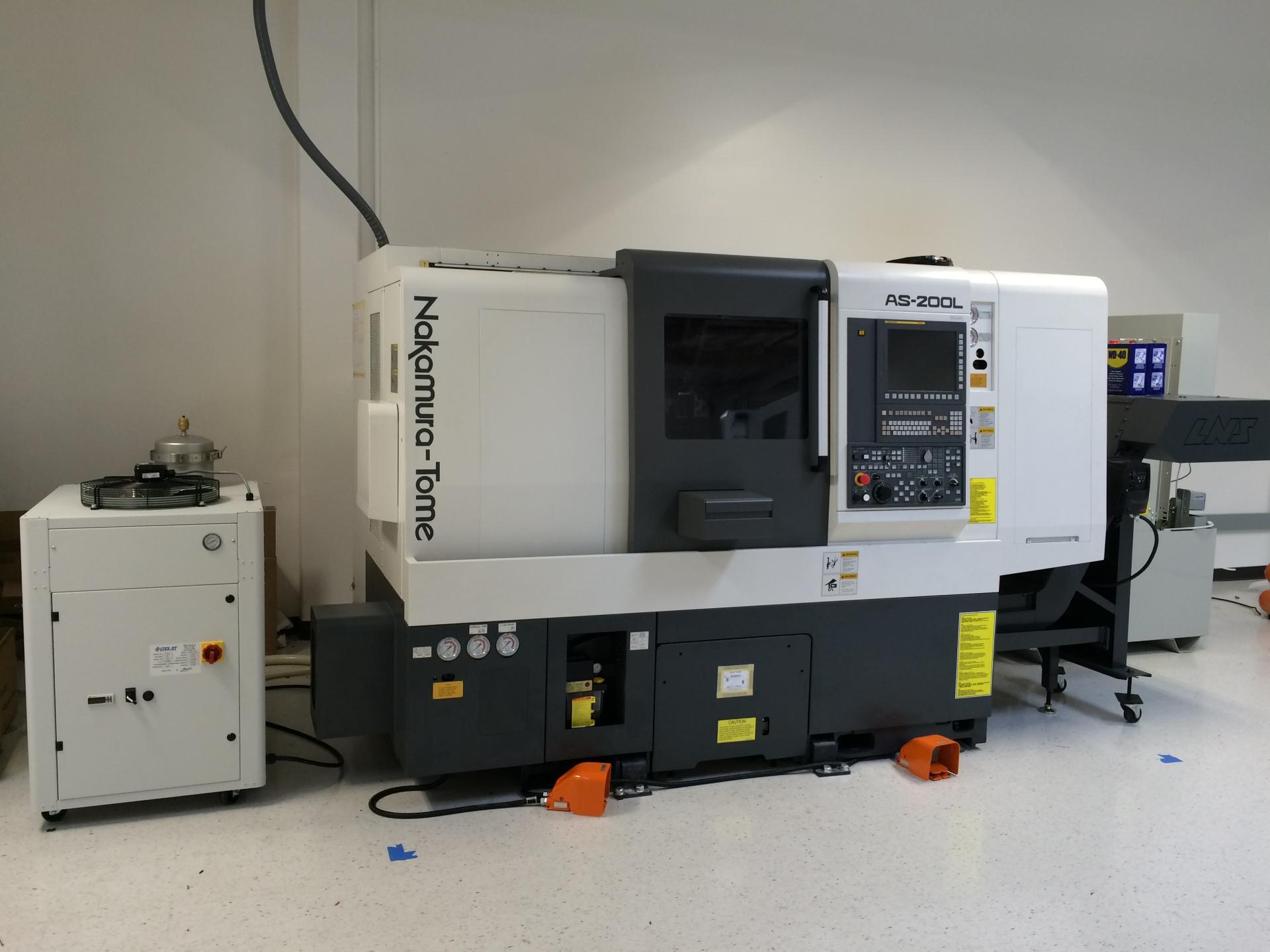 Nakamura AS-200 CNC Lathe Machine