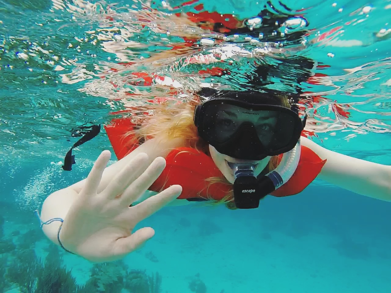 Snorkeling in Ambergris Caye