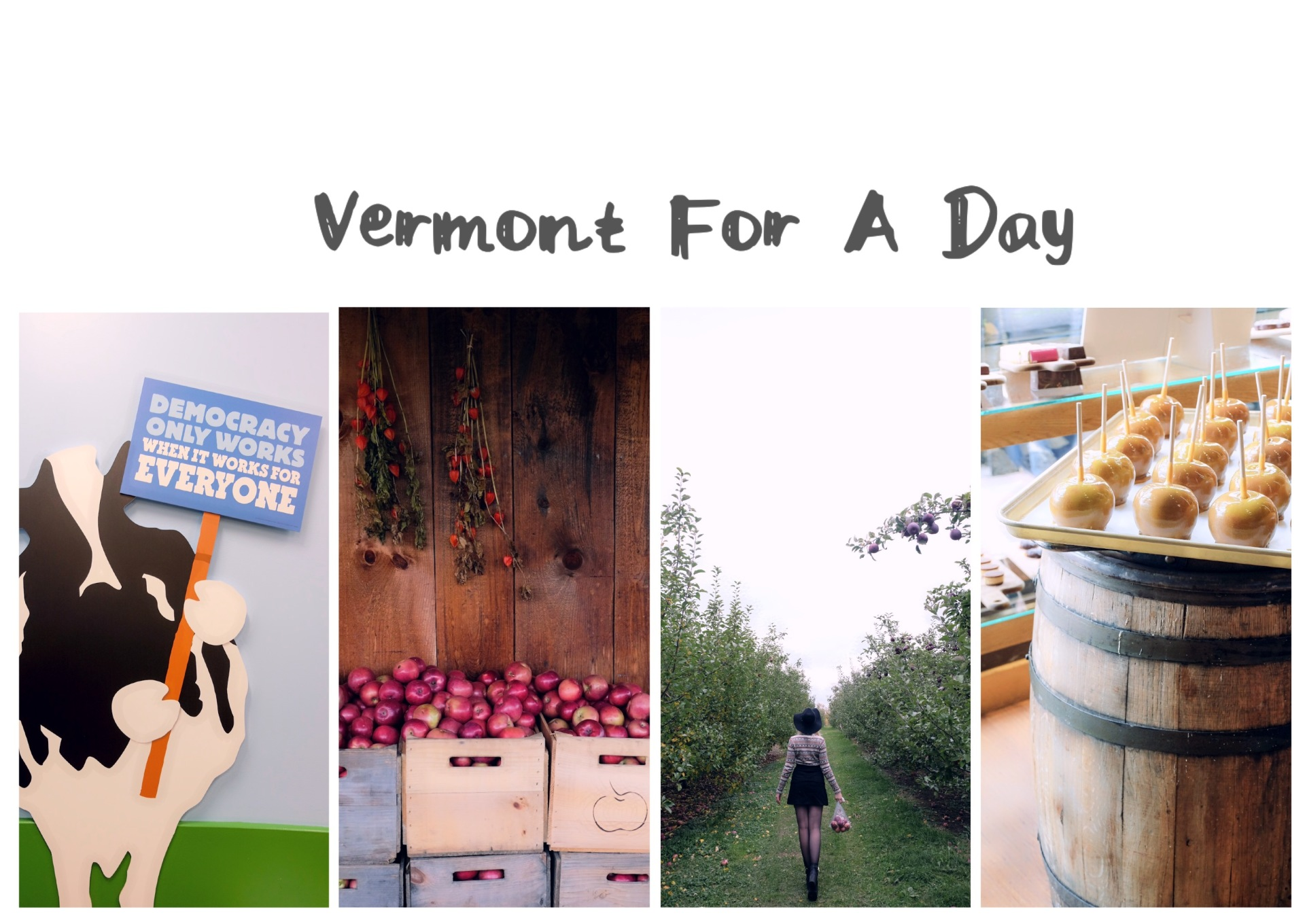 Vermont For A Day