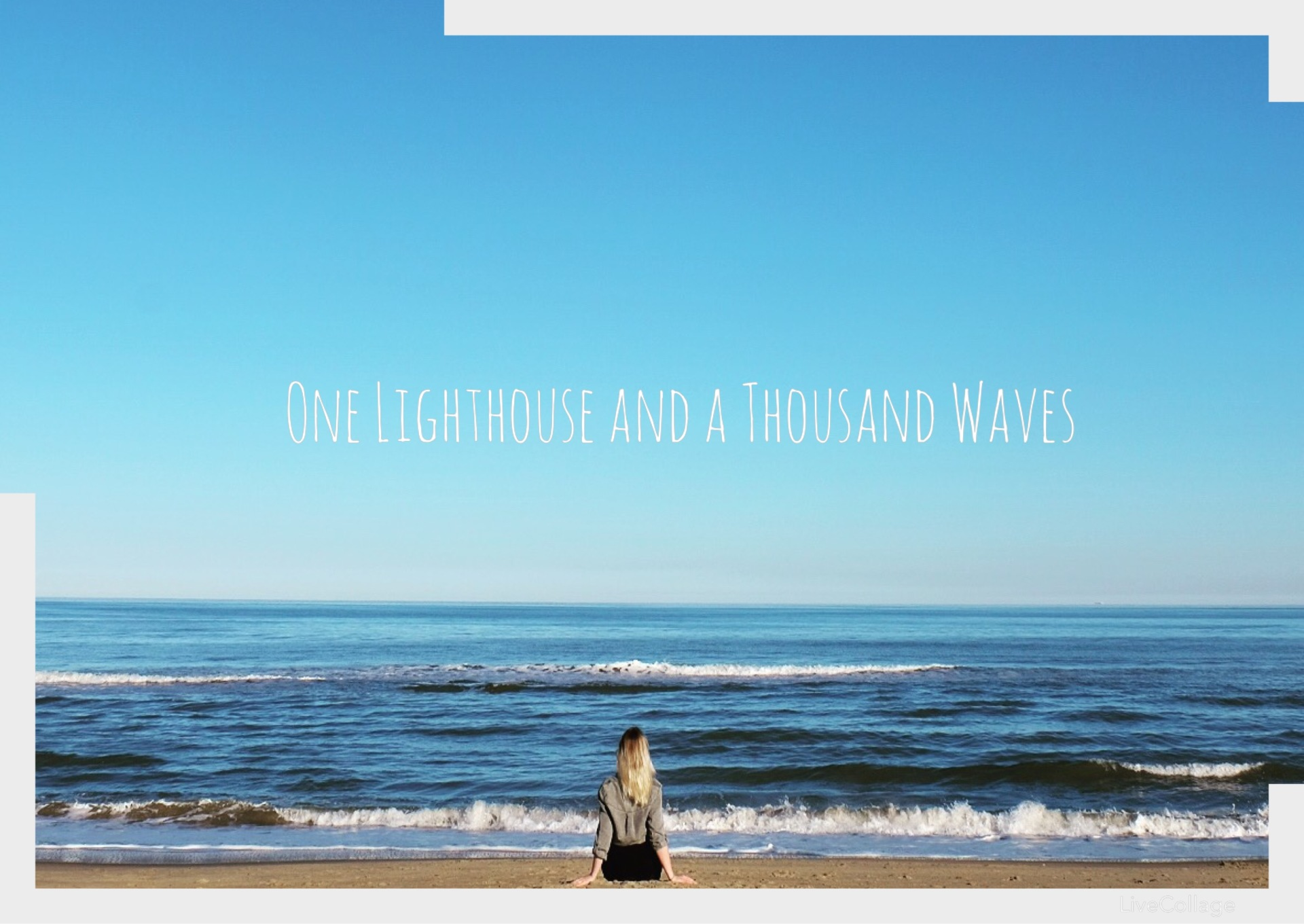 One Lighthouse and a Thousand Waves