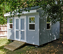 Link to The Elite storage shed design gallery by Five Star Sheds.