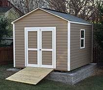 Link to info about a 10x12x9.5 storage shed.