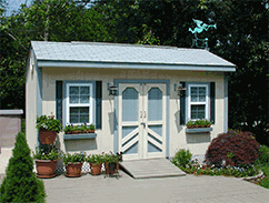 Link to info: 16x10x9.5 arts and crafts studio shed.