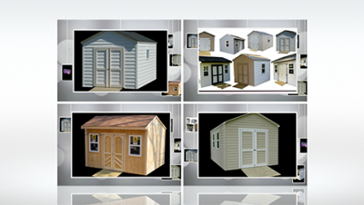 Link to The Interior storage shed design gallery by Five Star Sheds.