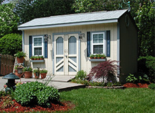 Link to Five Star Shed Quality construction features.