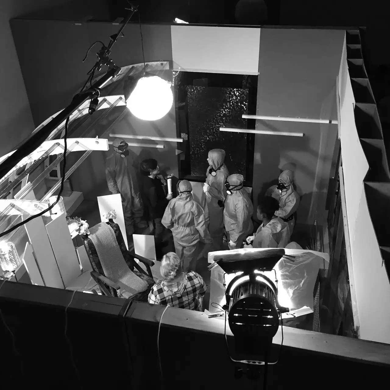 BTS of our studio unit shoot