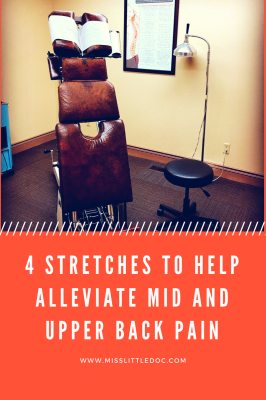 4 Stretches to Help Alleviate Mid and Upper Back Pain