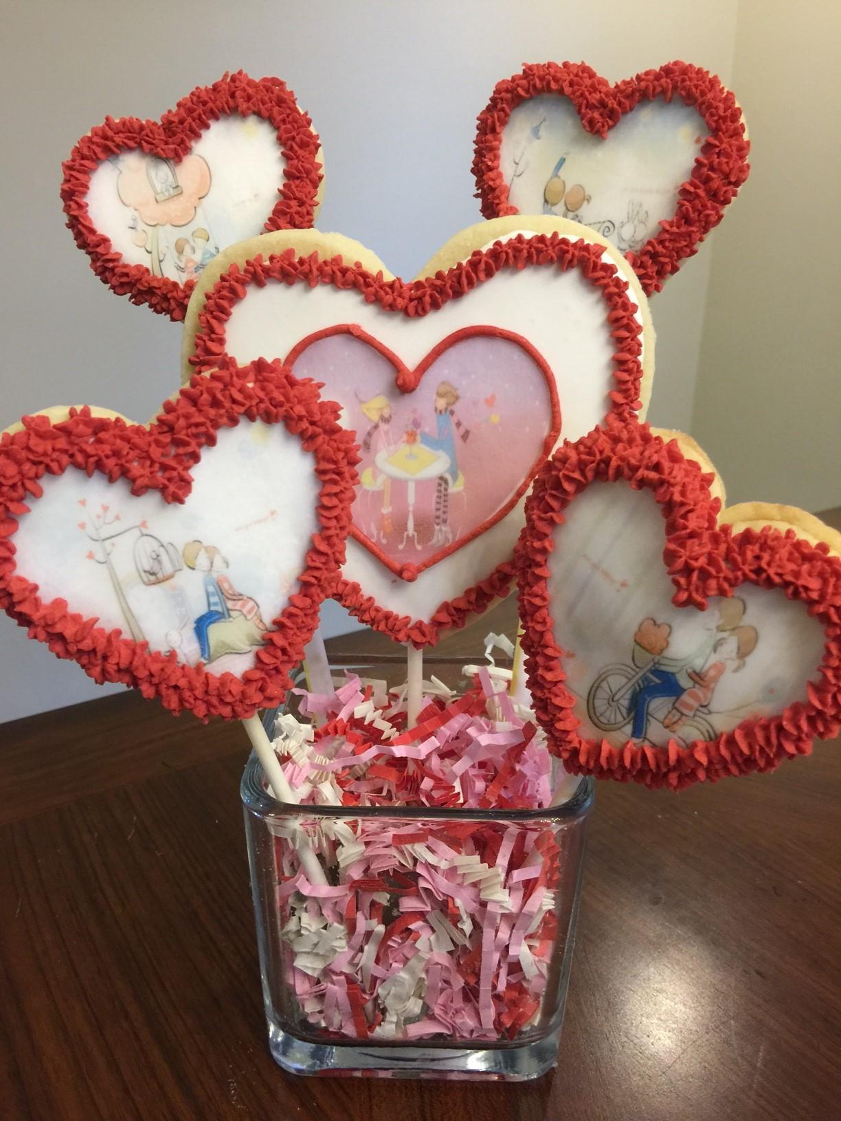 #Valentine #Personalized #SugarCookie #Cookie