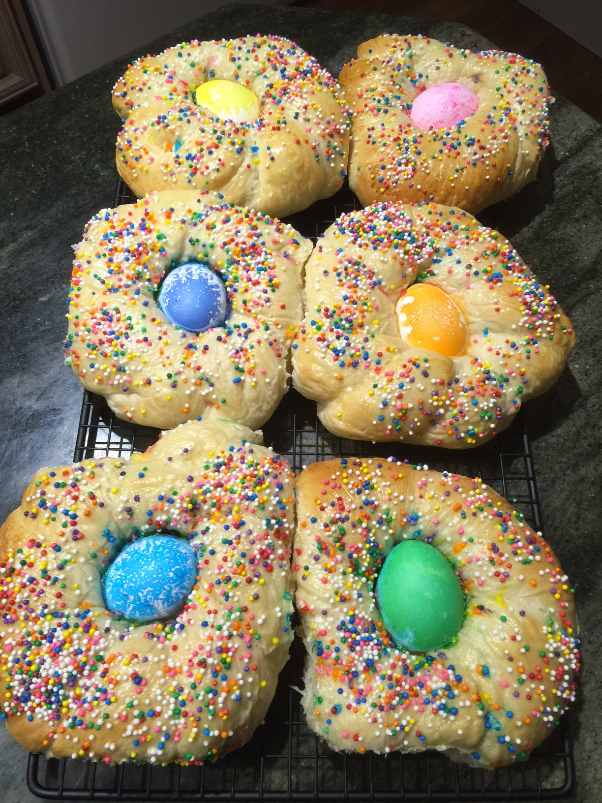 #Easter #Bread #Colours