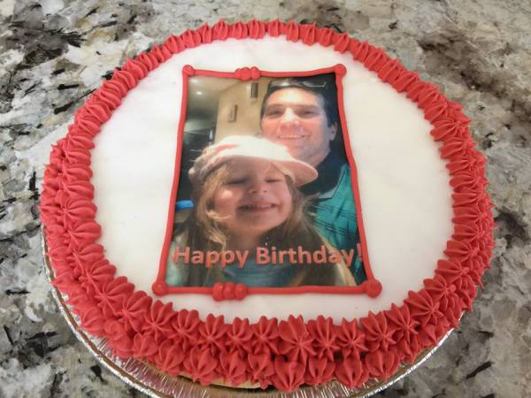Sugar Cookie Cake - Personalized