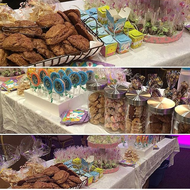 Corporate Sweet Tables