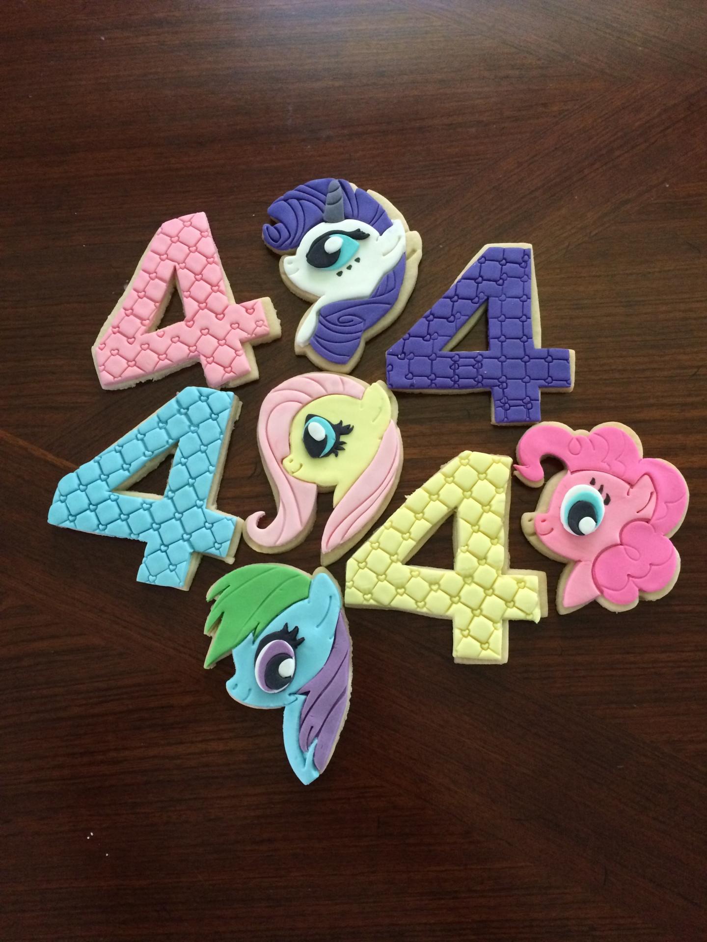 Ponies & Numbers