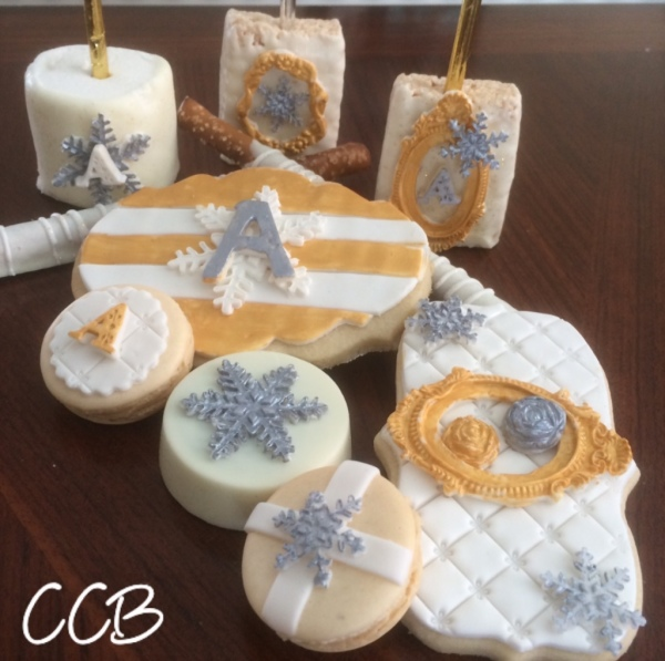 #cookie #themes #chocolate #bling #snowflakes