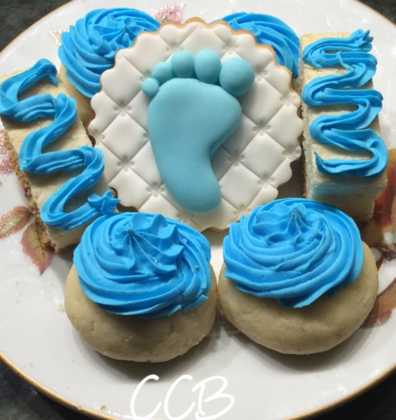 Blue Assortment for a Baby Shower / Baptism