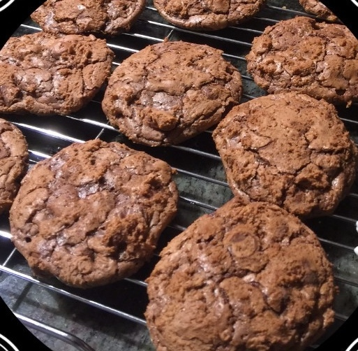 Double Chocolate Chocolate-Chip Cookies