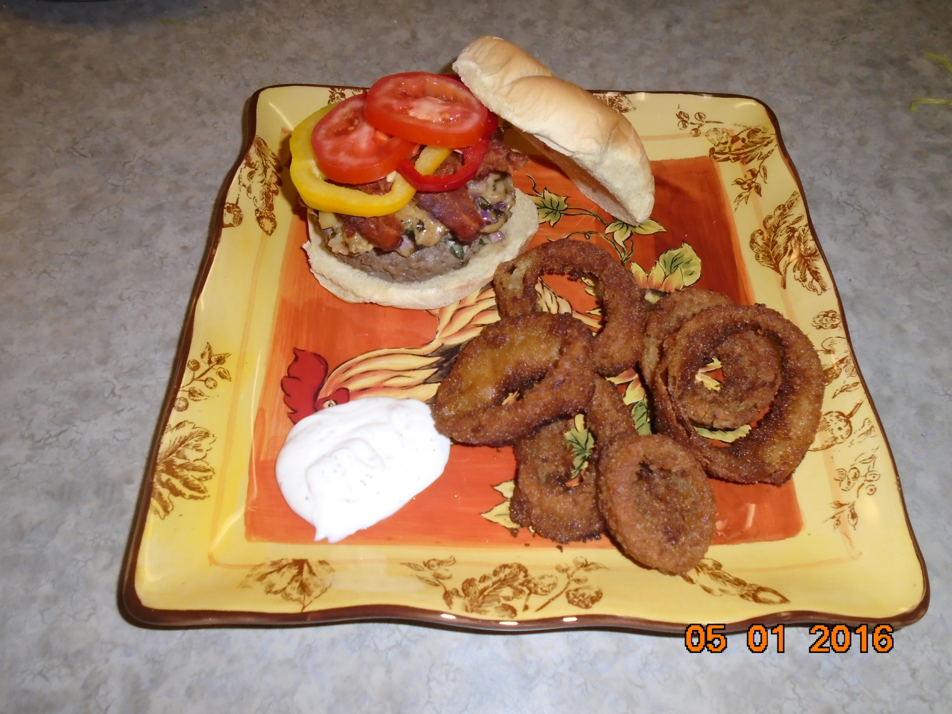 Stuffed Artichoke Burgers