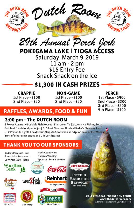 Perch Jerk - Ice Fishing Tournament
