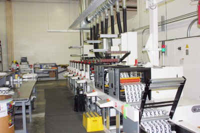 New Flexographic Printing Press