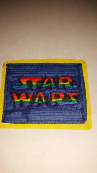 Star Wars/ Rainbow theme