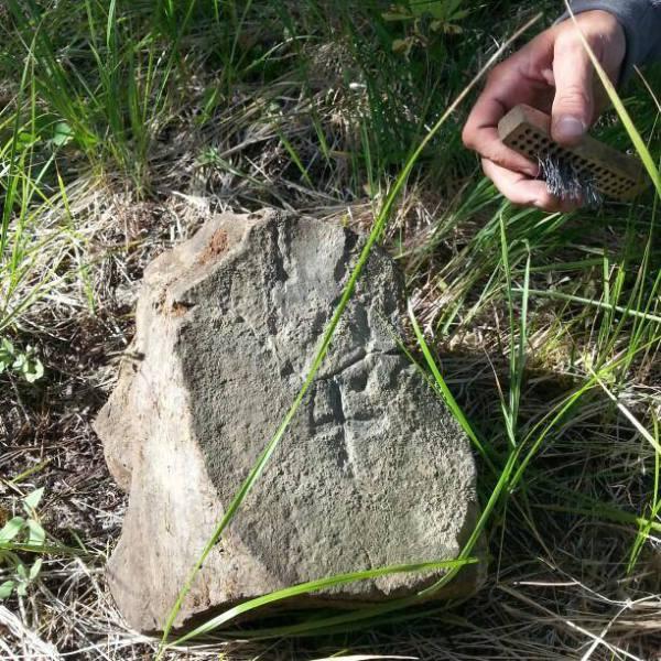 Original 1/4 Corner Stone