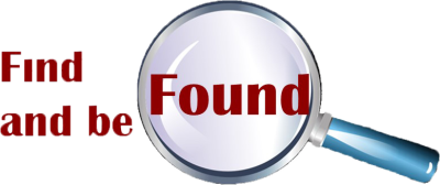 Find and be Found Logo right
