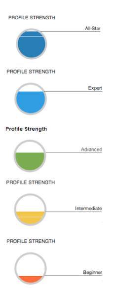 Linked Profile Strength