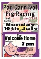 Par Carnival pig race