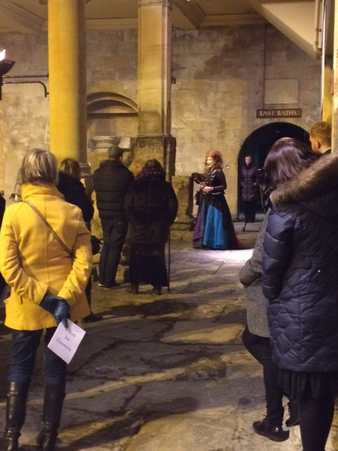 Mother's Day Gift: Renaissance Woman comes to Roman Baths