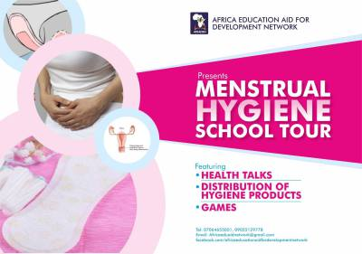 Menstural Hygiene School Tour