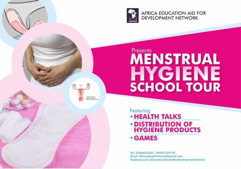 Menstrual Hygiene School tour