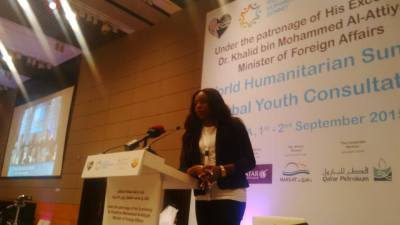 Lessons from the World Humanitarian Summit – Global Youth Consultation Doha