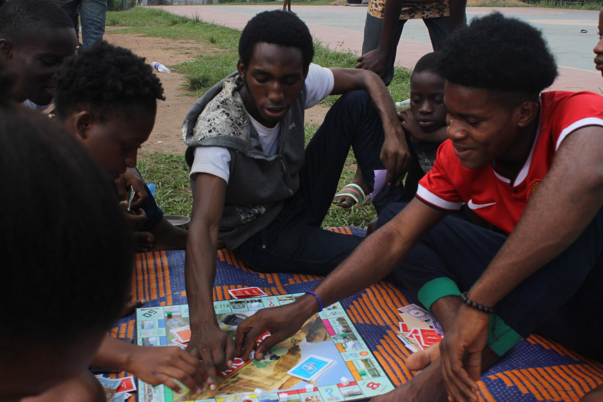 Monopoly team