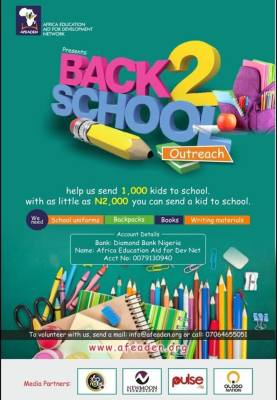 AFEADEN back to school outreach