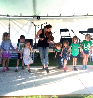 fiddle, kids, Irish