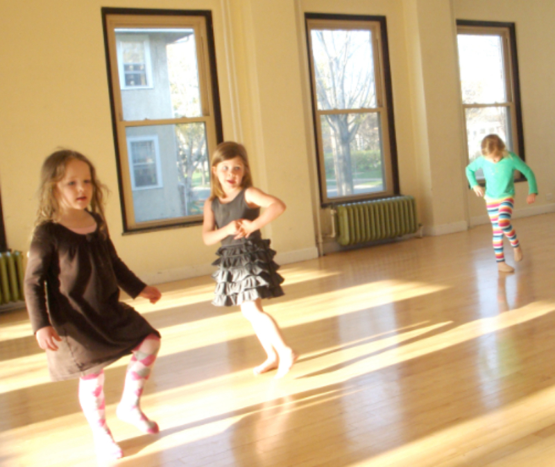 irish dance, early childhood