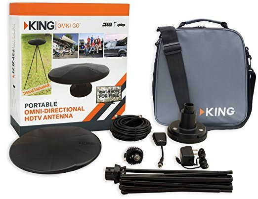 KING OmniGO Portable omnidirectional HDTV antenna