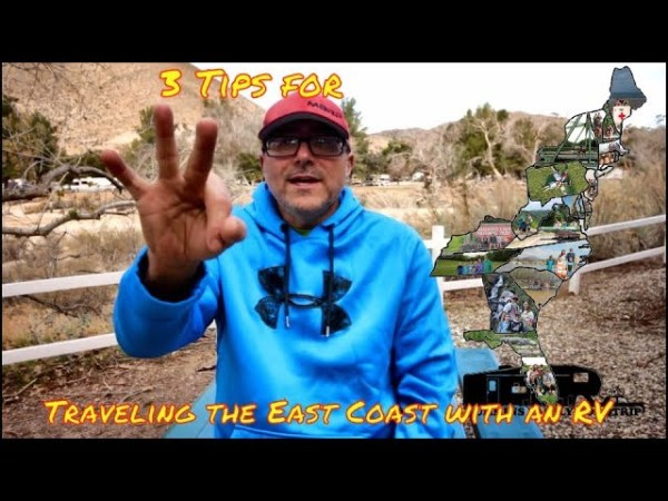 3 Tips for traveling the East Coast with an RV