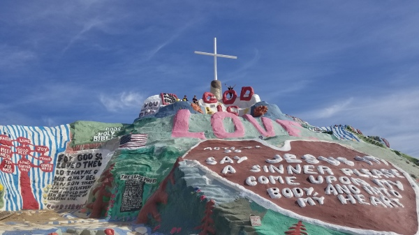 Salvation Mountain, Slab City and East Jesus