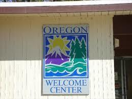 Staying at a rest stop at the Oregon Welcome center