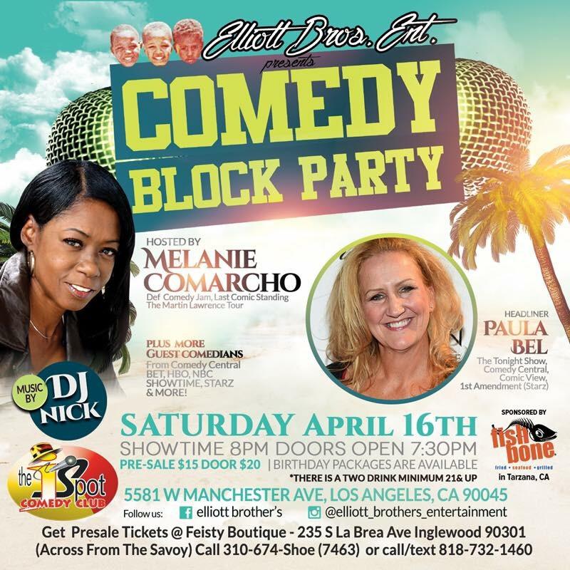 Comedy Block Party