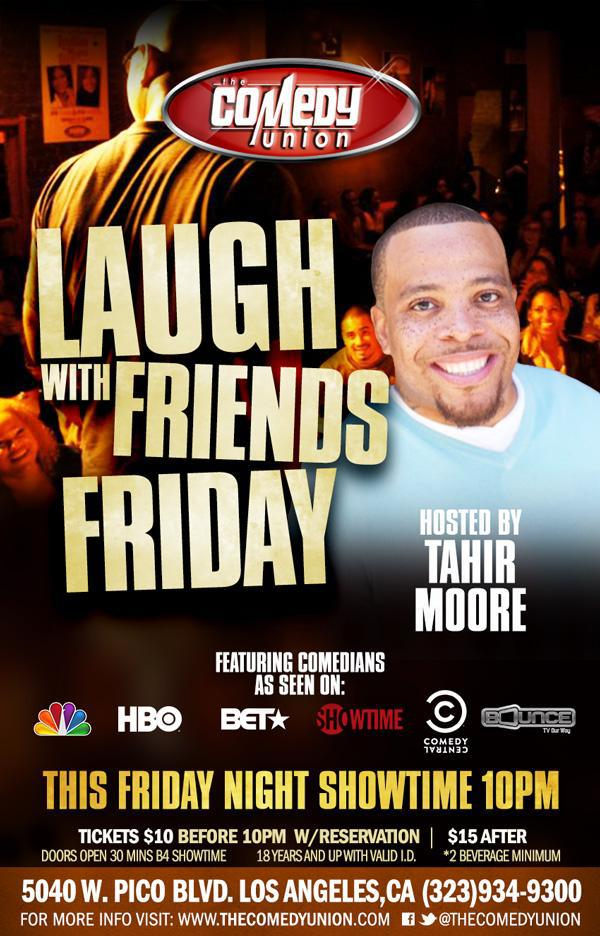 Laugh With Friends Friday