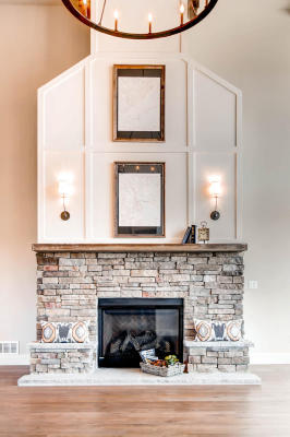 Main Level Fireplace
