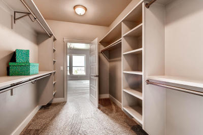 One of the Walk-In Closets